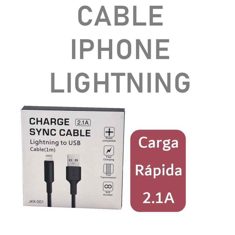 Cable USB Lightning iPhone Cable Generico